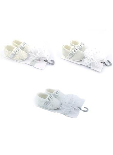 Mancar Funny Fırfırlı Bebek Ayakkabı-Gümüş Funny Fırfırlı Bebek Ayakkabı-Gümüş Gümüş